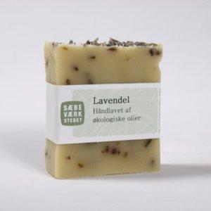 Lavendel Sæbe lavet af økologiske olier